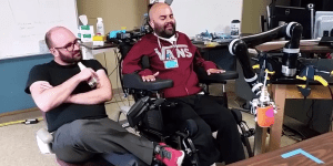 Watch A Paralyzed Man Drink A Beer ON HIS OWN Thanks To A Mind-Controlled Prosthetic Arm