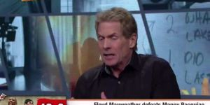 Skip Bayless Insists Manny Pacquiao Beat Floyd Mayweather, Is Out Of His Damn Mind