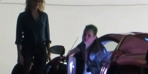New Footage From 'Suicide Squad' Filming Shows The Joker Slapping The Piss Out Of Harley Quinn