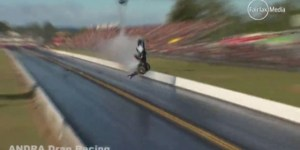 I Watched This Video 11 Times And Still Can't Believe A Human Survived This Crazy Drag Race Crash