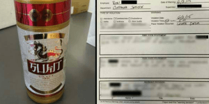 Can You Believe This Dude Got In Trouble For Smuggling A Fleshlight And Beer Into Work?