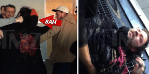 Video Of Bam Margera Getting Knocked Out Or Knocking Himself Out During A Brawl In Iceland