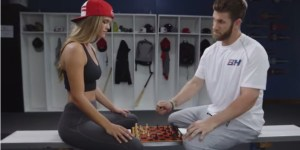 What Happens When America's Broiest Bro, Bryce Harper, And Its Sexiest Woman, Nina Agdal, Team Up?