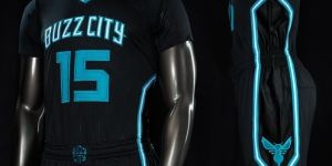 The New Charlotte Hornets Uniforms Say 'Buzz City' For Some Reason