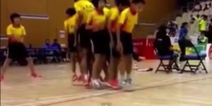 Would Ya Look At These Nine Little Chinese Kids Perfectly Jumping Rope In Unison?