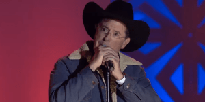 Stephen Colbert Covered Toby Keith At The Songwriters Hall Of Fame And Now We're Only Listening To Toby The Rest Of The Day