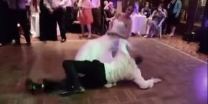 Shithoused Groom Tries To Give Bride Lap Dance On Wedding Floor To 'Danger Zone' And … Does Not Succeed
