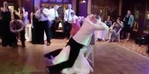 This Drunk Groom Who Can't Handle A Simple Wedding Reception Lapdance On His Wife 100% Didn't Get Laid That Night
