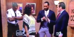 Watch This Idiot Propose To His Girlfriend Live On 'People's Court' After She Sued Him For $730