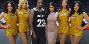Kim Kardashian Rented Out The Staples Center So Kanye Could Ball On His Birthday: Pics/Videos