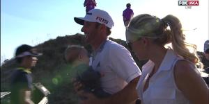 Paulina Gretzky Looked Hot As Hell Trying To Console Dustin Johnson After His Historic Miss