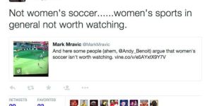 Sports Illustrated Writer Says Women's Sports Aren't Worth Watching. Does He Have A Point?