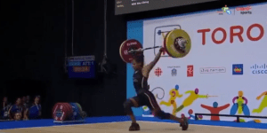 Female Weightlifter Faints During Pan Am Games And Is Nearly Crushed