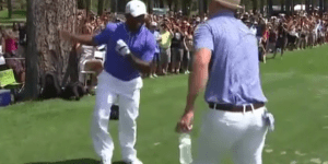 Alfonso Ribeiro Shakes Off Bad Golf Shot By Busting Out 'The Carlton' With Justin Timberlake