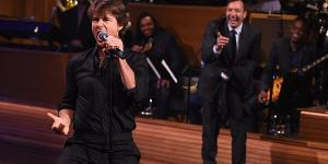 Tom Cruise Recreates Iconic 'Top Gun' Duet In Lip Sync Battle With Jimmy Fallon