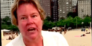 Racist Chicago Woman Caught On Camera Yelling The N-Word At A Mother And Her Kids, Plays The 'Free Speech' Card