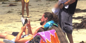 Watch Steve-O Wander Around A Crowded Beach And Give People Golden Showers Because It's Priceless