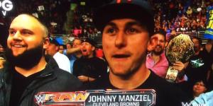WWE Champ Seth Rollins Just Loves Ripping On Johnny Manziel And His Latest Rant About Manziel's Face Is Epic