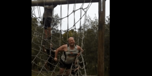 Watch This Bro Fall Right On His Nuts While Trying To Do An Obstacle Course