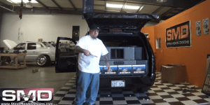 This Guy Built A Car Stereo With So Much Bass That It Literally Can Scramble An Egg