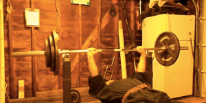 Bro Tries To Bench Press Big Weight, Which Turns Into A Disaster