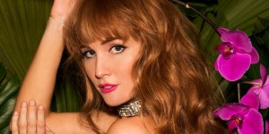 Ginger Goddess Dominique Jane Is Straight Fire As Playboy's Miss August 2015