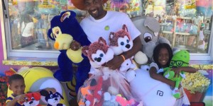 Former NBA Baller Gilbert Arenas Banned From County Fair—For Stroking It Like He Used To