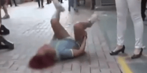 Woman Handcuffed And Taken Away By Paramedics After Epic Meltdown From Being Dumped Via Text