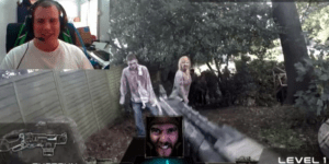 This Real-Life First-Person Shooter Where You Battle Hordes Of Zombies Is So Perfect