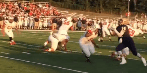 WATCH: A Touchdown Was Scored On The Extraordinarily Rare 'Butt Punt'