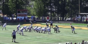 High School Running Back Damn Near Murders Defender On His Way To The End Zone