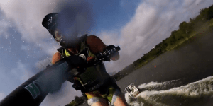 Bro Does A Double-Backflip On A Jet Ski, Captures It On A GoPro