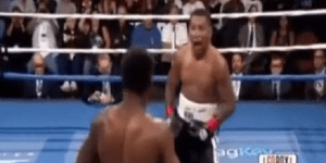 Ricardo Mayorga Hilariously Taunts Shane Mosley And Lets Him Punch Him In The Face Multiple Times During Fight