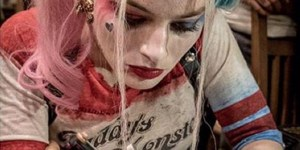 'Suicide Squad' Crew Got Matching Tattoos With Margot Robbie Dressed As Harley On The Gun
