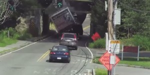 America's Favorite Truck-Destroying Bridge Is Back, Destroying The Dick Outta This Truck