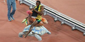 Of Course People Are Photoshopping Usain Bolt Getting Run Over By That Guy On A Segway