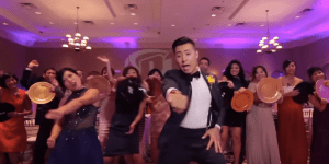 This Couple Stopped Their Wedding To Make A Music Video With All 250 Guests And The Result Is Awesome