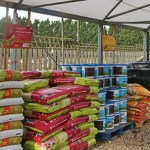 Products such as compost, rootstock and tree ties.