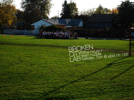 Broken City Lab Office Hours / Team Huddle