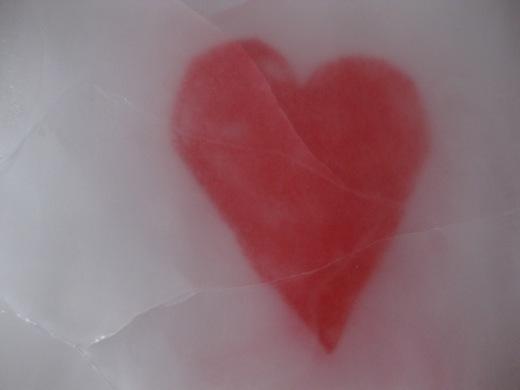 heart under ice