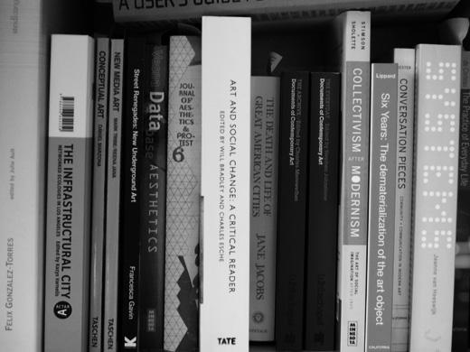 some books on my bookshelf