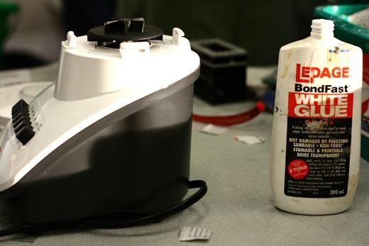 blender and glue