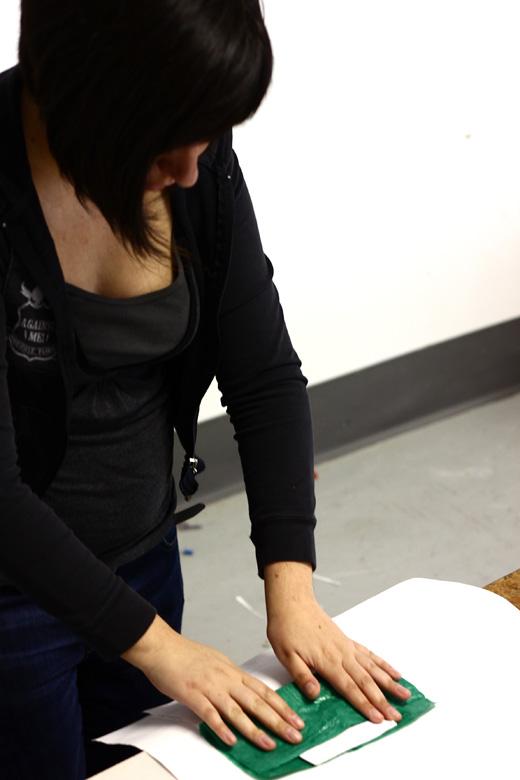 Cristina folds