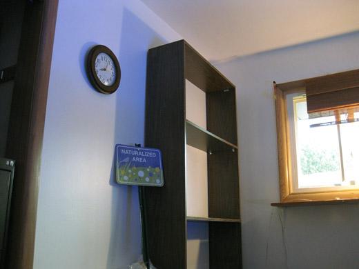 corner of the room