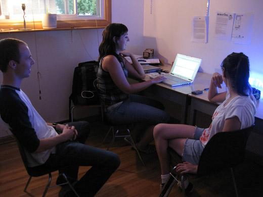 Josh, Michelle, and Danielle