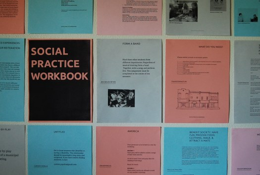 Social Practice Workbook Press release