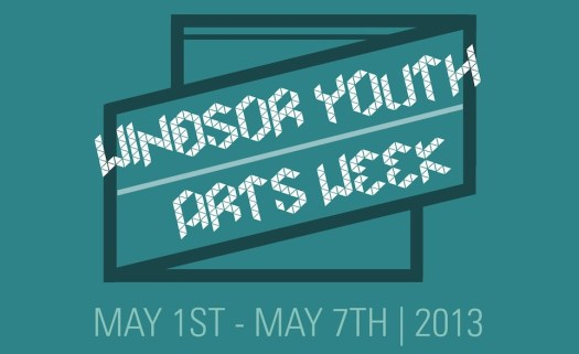 Windsor Youth Arts Week - Poster (2013)