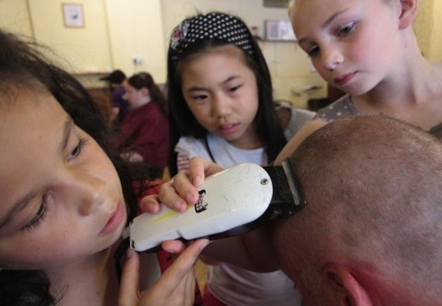 Mammalian Diving Reflex - Haircuts by Children