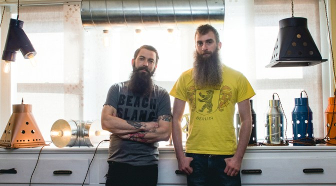 Check It Out:  Akron's WhiskerTin Lighting
