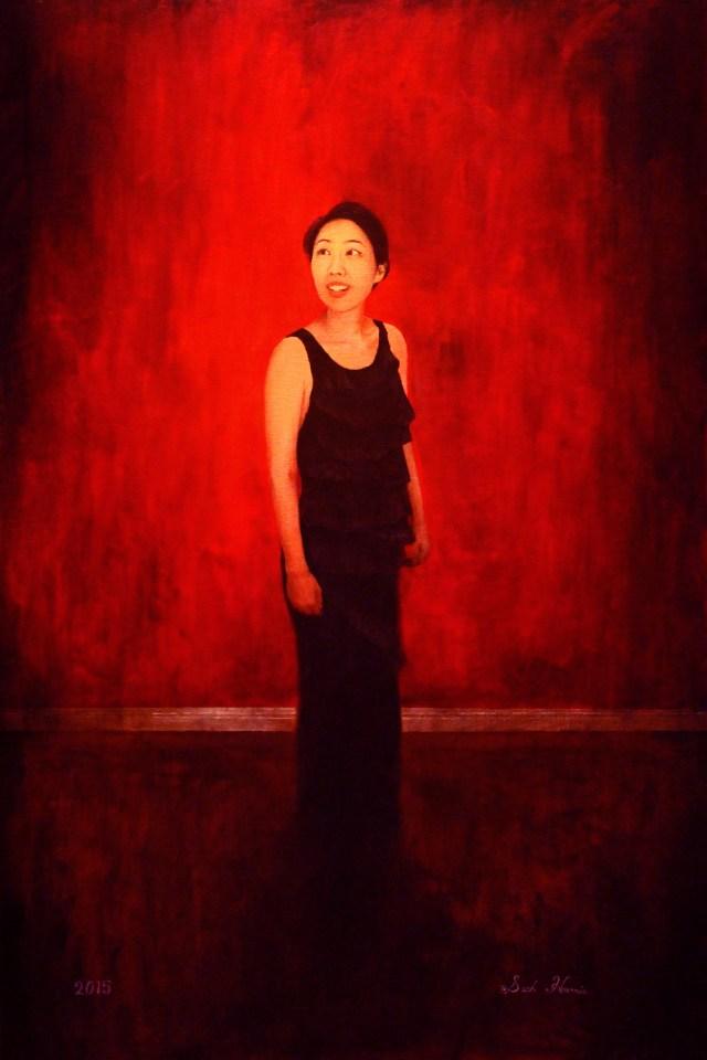 """Ji Yun Lee"" Oil on Canvas"